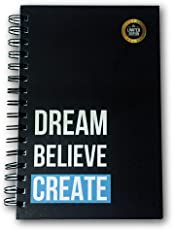 Dream Believe Create Planner [Special Edition] - Best Daily Agenda to Achieve Your Goals & Live Happier in 2018 - Gratitude Journal - Undated - Use for (90 Days)