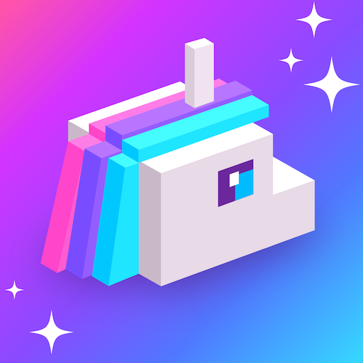 Frappy Unicorn: Jump in Rainbow Path - Trending games for free ( no wifi )