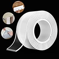 KWT Nano Double Sided Tape Heavy Duty - Multipurpose Removable Traceless Mounting Adhesive Tape for Walls?Washable…