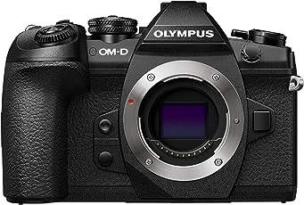 Olympus OM-D E-M1 Mark II Systemkamera (bis zu 60 Bilder/sek., 121 AF Punkte,20 Megapixel, 7,6 cm (3 Zoll) TFT LCD-Display, 4k Video, HDR, 5-Achsen Bildstabilisator) schwarz