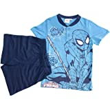 SICEM INTERNATIONAL SRL Pijama para niño Spiderman original hombre araña talla 7 años media manga 16079