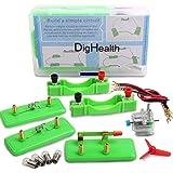 DigHealth Elettrico Circuito Kit, Giocattolo Educativo Montessori, Kit Esperimenti Fisica, STEM Sperimentale Progetti Scienti