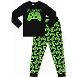 Pijama Largo de algodón para niños y niñas, Color Verde