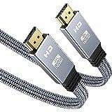 2M Cavo HDMI 4K, Snowkids 4K60HZ Cavo piatto HDMI 2.0 ad alta velocità Supporto 18 Gbps 3D UHD 2160P HDCP 2.2 ARC…