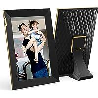Nixplay 10,1 Zoll Smart Digitaler Bilderrahmen mit WLAN und Touchscreen - Schwarz - Videoclips und Fotos sofort per E…