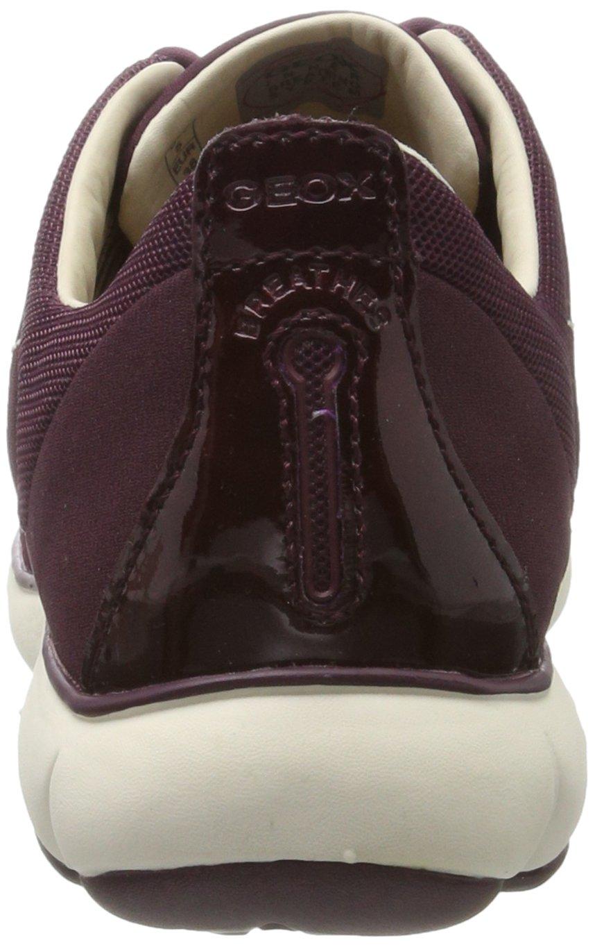 Geox Damen D Nebula A Low-Top Sneakers mit herausnehmender Ledersohle und atmungsaktiver Nebula-Technologie 2