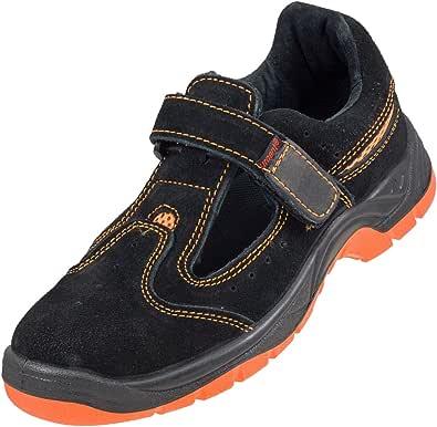 Urgente Leightweight Pelle Scamosciata Uomo 'S Sandalo Sicurezza Lavoro Scarpa con Punta in Acciaio Cap 304 SB