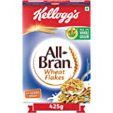 Kellogg's All Bran Wheat Flakes , High in Protein & Fibre , Low Fat , High in vitamin B1, B2, B3 and B6 , Source of Vitamin B