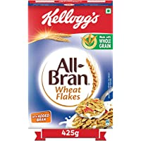 Kellogg's All Bran Wheat Flakes | High in Protein & Fibre | Low Fat | High in vitamin B1, B2, B3 and B6 | Source of…