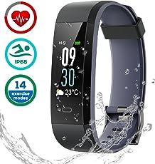 Fitness Tracker Impermeabile IP68, LATEC Activity Tracker Smartwatch