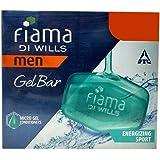 Fiama Bathing Gel Bar - Men Energizing Sport, 3x125g Box