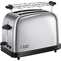 Russell Hobbs Toaster Grille Pain 1670W, 2 Fentes, Chauffe Viennoiseries, Rapide - 23310-56 Chester