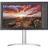 "LG UltraFine 27UP850-W 27"" Monitor 4K - UHD 4K 3840x2160, IPS 5ms 60Hz, HDR 400, DCI-P3 95% (Gaming-functies AMD FreeSync, DA"