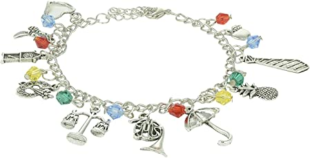 """How I Met Your Mother"" Inspired Multiple Charm Bracelet"