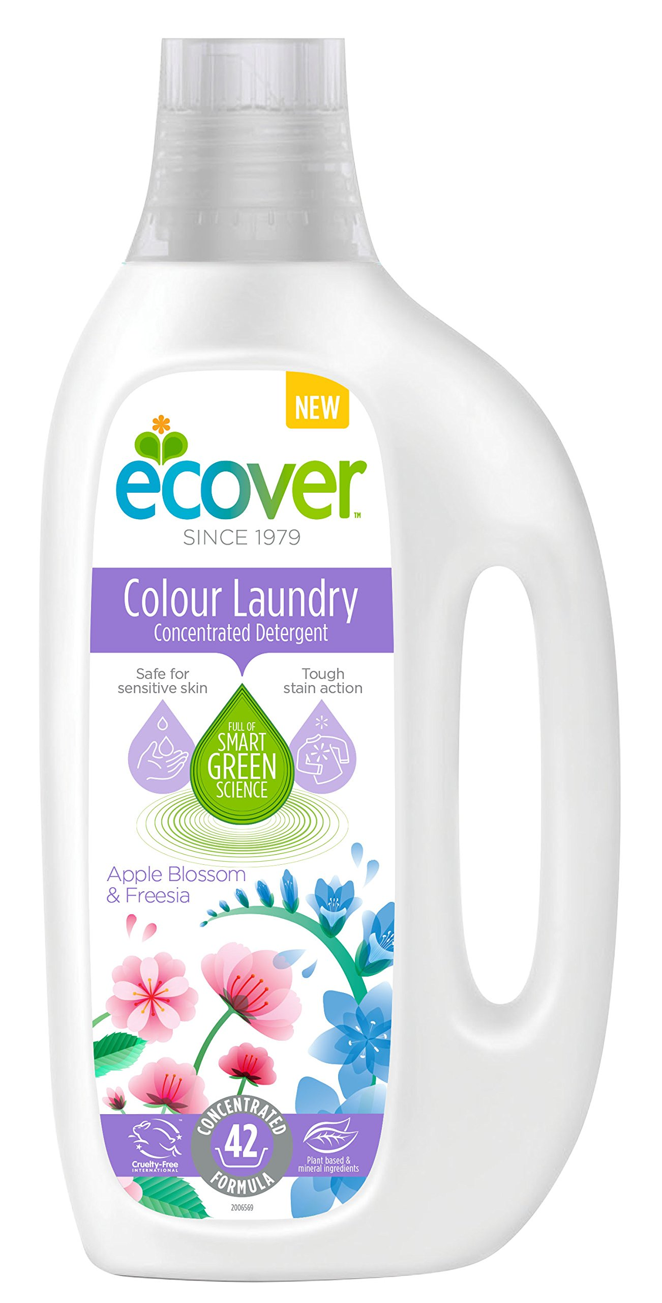 Ecover Laundry Liquid Concentrated Colour, 1.5L