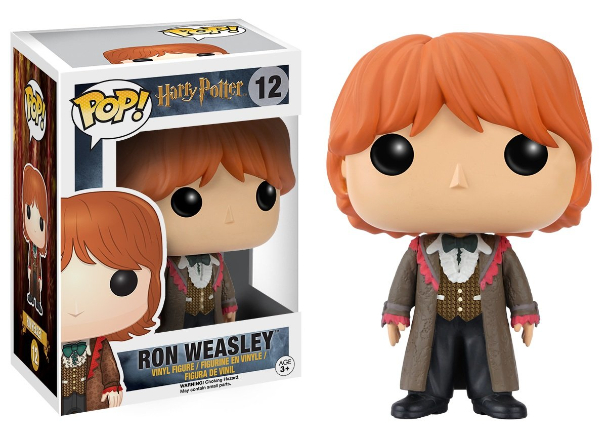 Funko Pop Ron Baile de Navidad (Harry Potter 12) Funko Pop Harry Potter