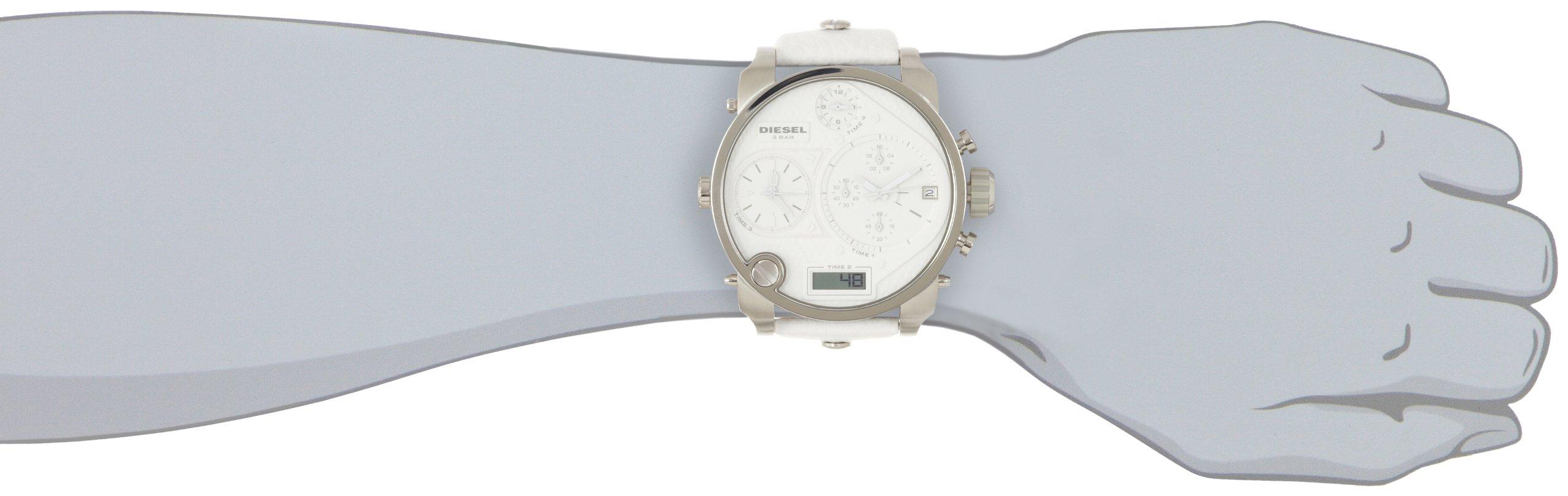 Diesel Analogue Digital White Dial Men's Watch – DZ7194