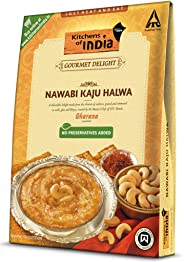 Kitchens of India Ready to Eat Nawabi Kaju Halwa, 200g