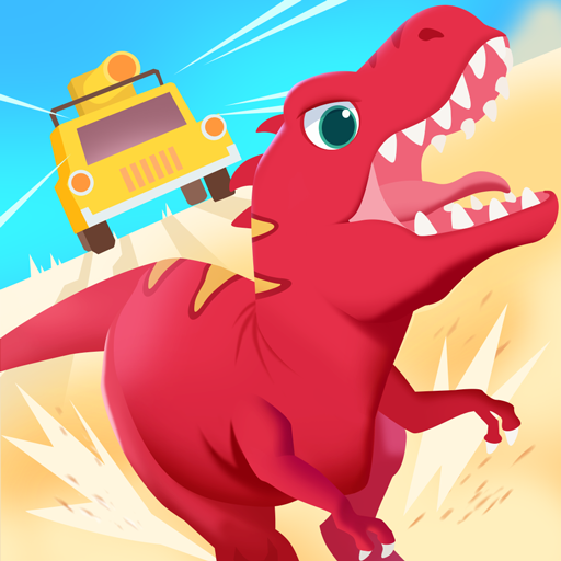 Dinosaur Guard - Driving games for kids in Jurassic!
