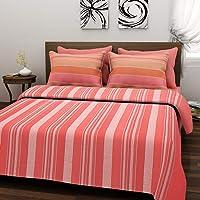 Raisa Panipat Weave Handloom 120 TC Cotton Double Bed Cover - Multi, ALT_029