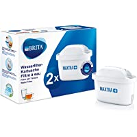 BRITA Wasserfilter-Kartusche MAXTRA+ 2er Pack – Kartuschen für alle BRITA Wasserfilter zur Reduzierung von Kalk, Chlor…