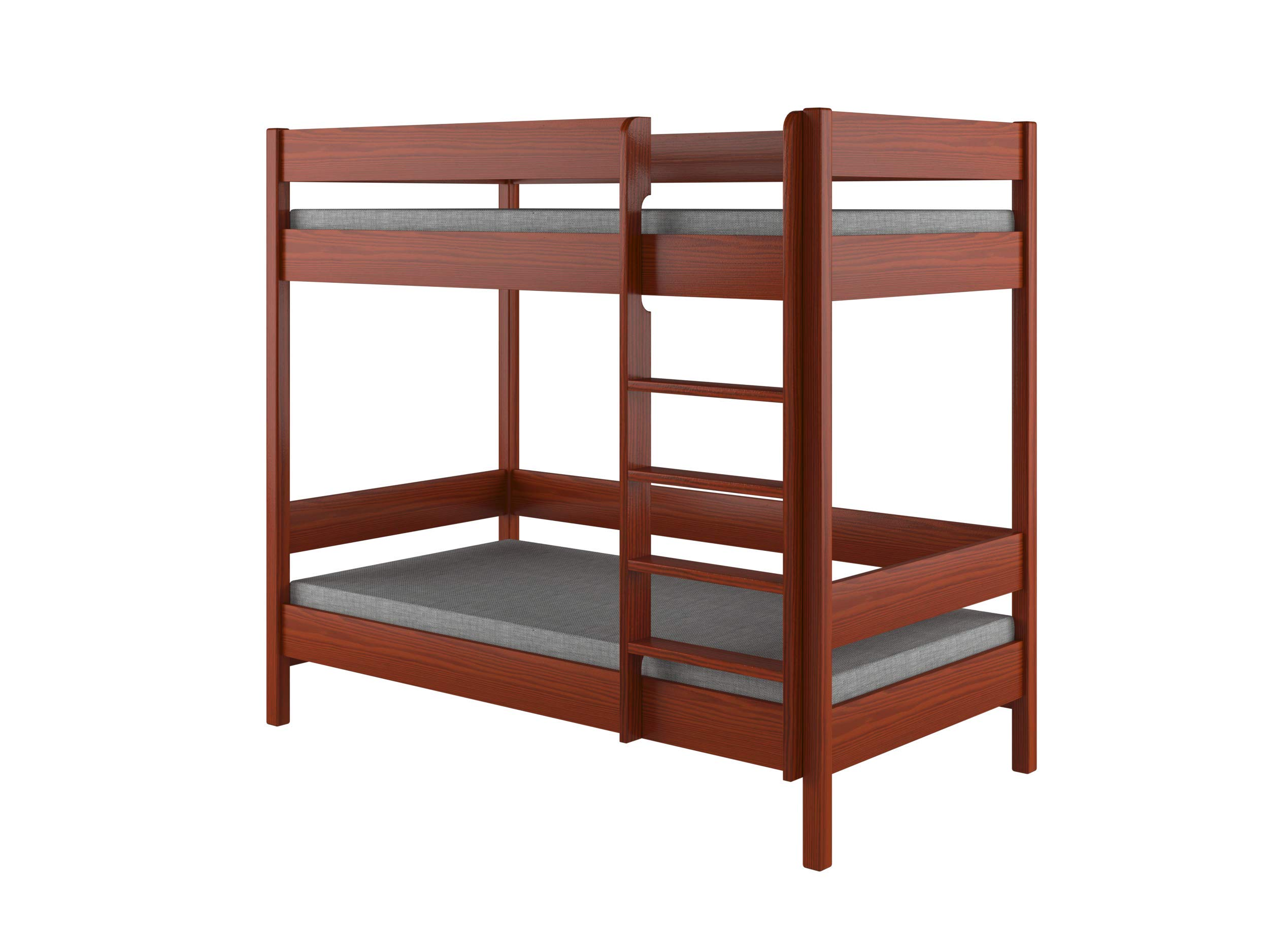 Children's Beds Home Bunk Beds - Kids Children Juniors Single with 2 Foam Mattress but No Drawers (140x70, Palisander) Children's Beds Home Bed with barriers internal dimensions: 140x70x160, 160x80x160, 180x80x160, 180x90x160, 200x90x160. External dimensions: 147x77x160, 167x87x160, 187x87x160, 187x97x160, 207x97x160 Bunk Bed with access from the - Front (D-1), Universal bed entrance - left or right side. 1