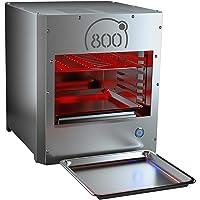 intergrill 800° Grill Pure XL Elektrogrill Indoor Küche Steakgrill Hochleistungsgrill 16kg Oberhitzegrill Profi Qualität