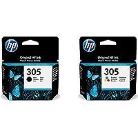 HP Original 3YM61AE/3YM60AE Multipack Lot de cartouches d'encre originales Noir et trois couleurs