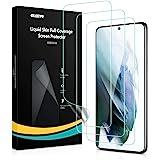 ESR Liquid Skin Screen Protector Compatibel met Samsung Galaxy S21 Plus (2021), 3 Pack, ondersteunt vingerafdruksensor, volle