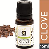 Anveya Indonesian Clove Essential Oil, 100% Natural, Pure & Undiluted, 15ml, Best For Toothache, Gums, Pain Relief, Hair…