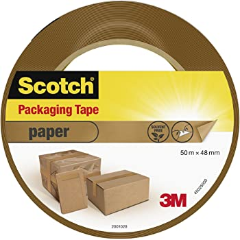 Scotch 45025048 50 m x 48 mm Paper Packaging Tape