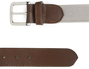 FROW COTTON & LEATHER Nickle Spot & Rust Free Buckle. 36 Inch, 5 HOLES