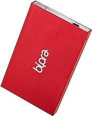 'Festplatte (FAT32–Externe Festplatte mit USB 2.0, 2,5, Farbe Rot 1 TB