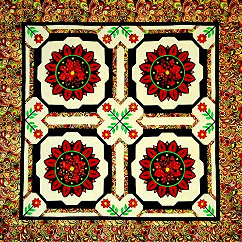 Edge-twin Quilt (Happy Stash Quilts Sonnenblume Fiesta Quilt Muster)