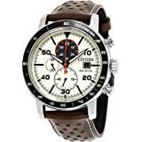 Citizen Casual Watch For Men Analog Leather - CA0649-06X