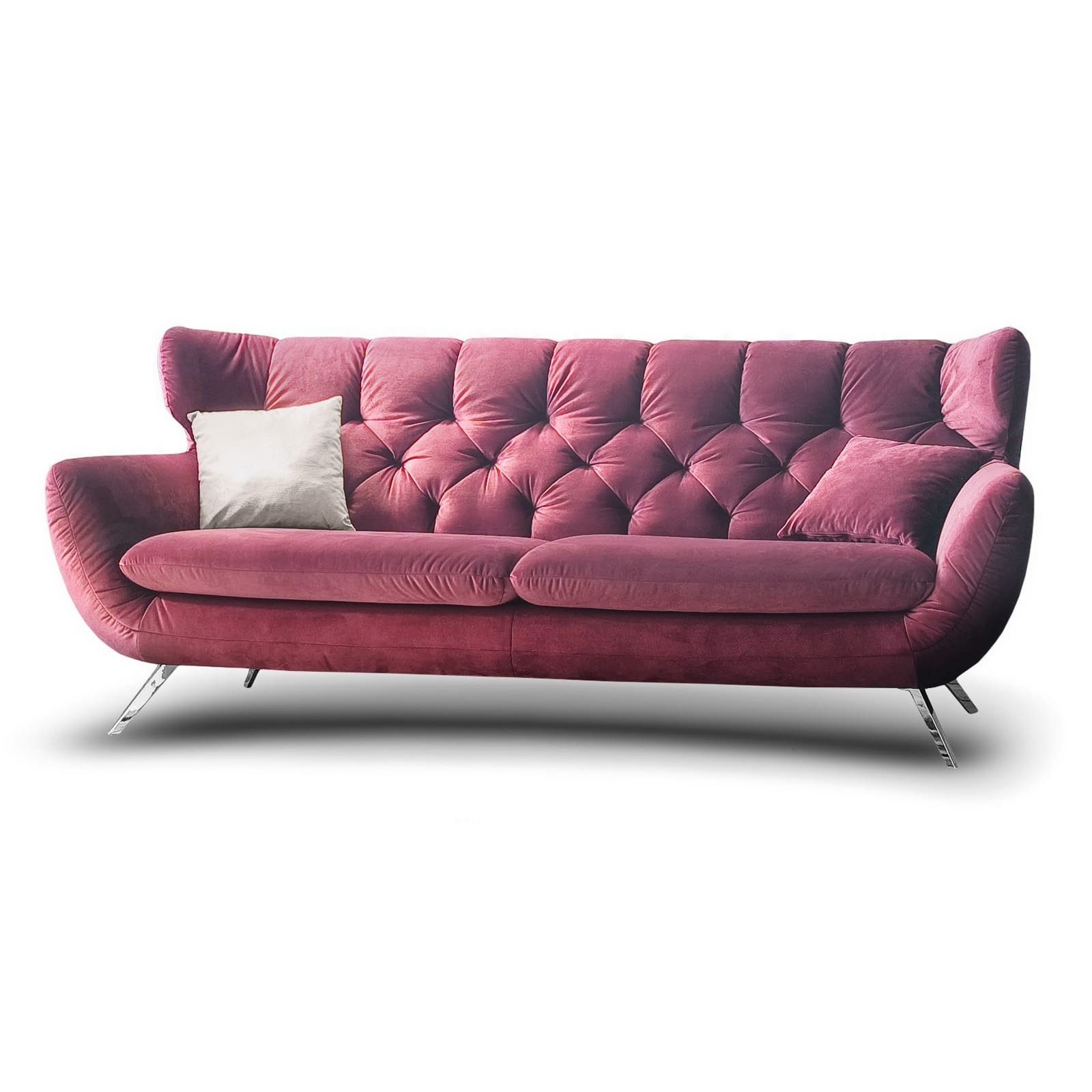 Designer Chesterfield Candy Sixty Sofa 3c Polstersofa Couch Mit