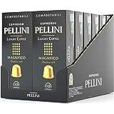 Pellini Caffè Espresso Luxury Coffee Magnifico, Capsule Compatibili Nespresso, COMPOSTABILI e Autoprotette,, 12 Astucci…
