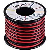 TUOFENG 16 AWG draad 20 m siliconen draad flexibel vertind koperdraad hoge temperatuurbestendigheid 2 afzonderlijke draden 10