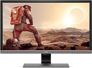 BenQ EL2870U 70,61 cm (27,9 Zoll) Monitor (4K UHD 3840 X 2160 Pixel, HDR10, AMD FreeSync, Brightness Intelligence Plus, 1ms Reaktionszeit) grau