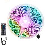 Ledstrip, RGB ledstrip, 3 m, 360 leds, 5050 RGB, IP65, waterdicht, flexibel, meerkleurig, snijbaar, 20 kleuren, 6 modi, met U