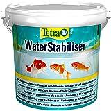 Tetra Pond Waterstabilisator (stabiliseert belangrijke waterwaarden, optimaliseert de KH- en PH-waarde in de tuinvijver, voor