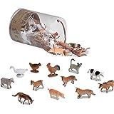 Terra AN6001Z - boerderijdieren in doos, spel, meerkleurig