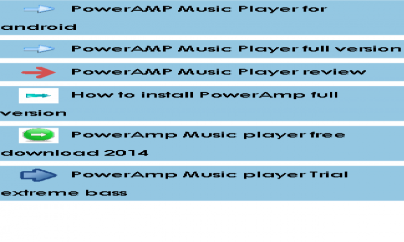 PowerAMP Music Player guide: Amazon co uk: Appstore for Android