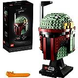 Lego 75277 Star Wars Boba Fett Hjälm Display Byggsats, Flerfärgad, 625 Delar