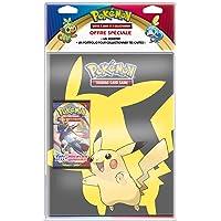Pokemon Epée et Bouclier-Série 1 (EB01) : Pack Portfolio + Booster, POB09EB01 (Modèle Aléatoire)