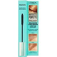 L'Oréal Paris Mascara Istantaneo Ritocco Perfetto Precision, Ideale per Capelli Bianchi Radi e Tempie, Non Macchia, 4…