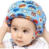 IULONEE Casco protettivo per bambino in cotone con protezione per la testa, cappello protettivo per bambini, casco protettivo