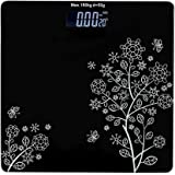 Keekos Electronic Thick Tempered Glass LCD Display Digital Personal Bathroom Health Body Weight Weighing Scales For Body Weig