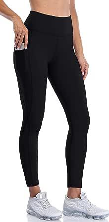 Anwell Winter Leggings Women with Pocket Shape Women Leggings Black Lined Pants Yoga Pants