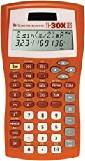 Texas Instruments TI-30X IIS 2-Line Scientific Calculator, Orange